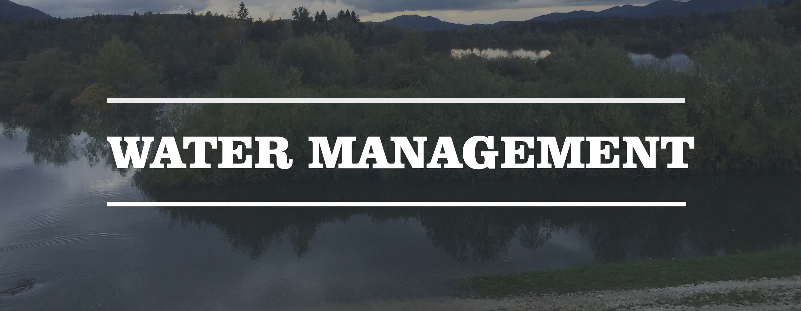 Water management