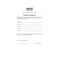 Compliance Certification